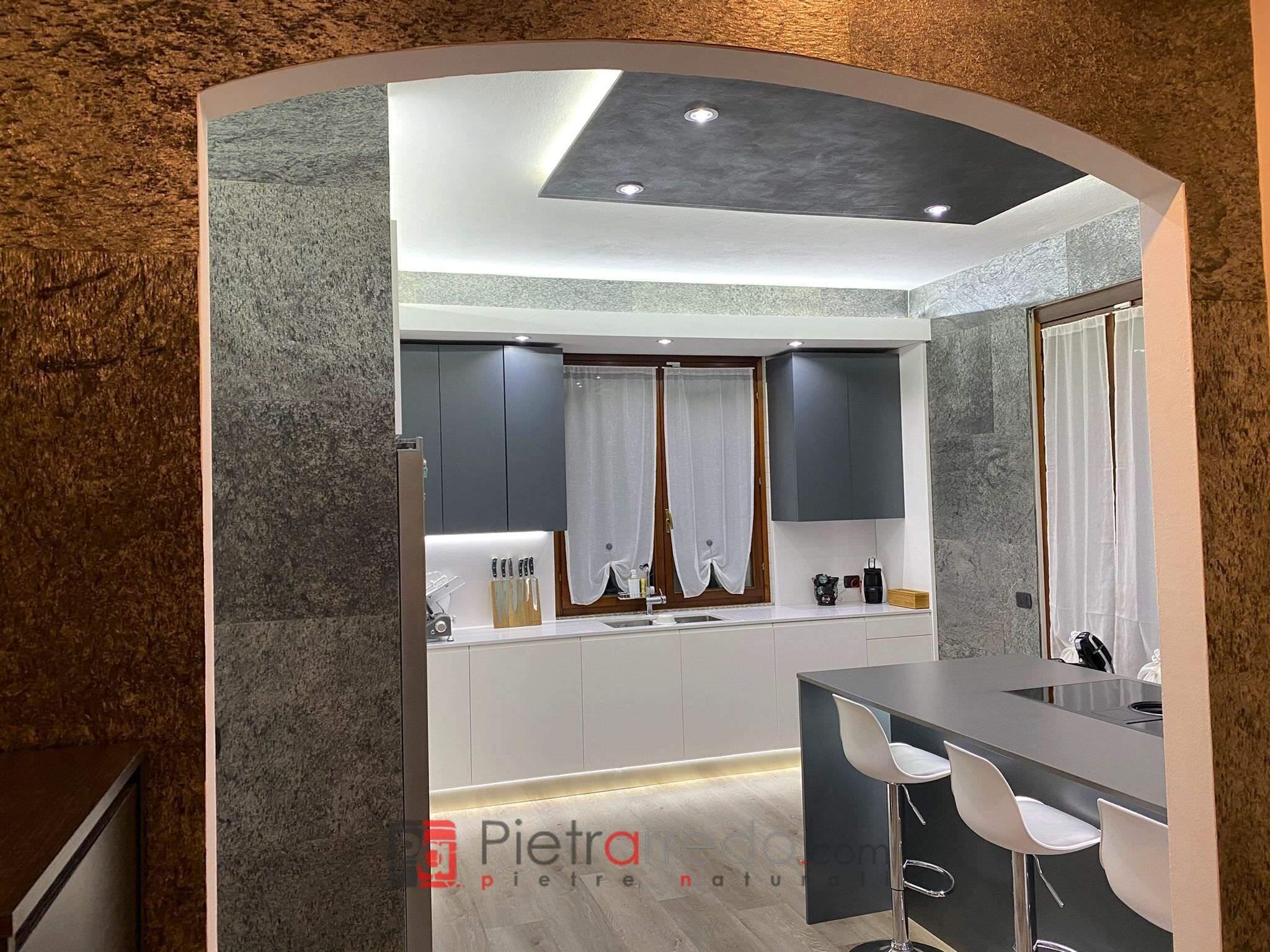offert price stone sheet silver shine wall mobili cucina parete offerta pietrarredo milano prezzo