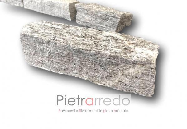 offerta blocchetti binderi masselli pietra beola ghiandone striato da muro fioriere sasso prezzo