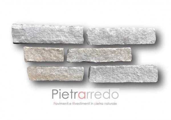 offerte e costi pietra tranciata bloccheti listelli da muro segati luserna adda verapietra luxury mq costo