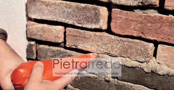 prezzo vecchio mattone anticato cascina casolare rustico rivestimento san marco dogi offerta