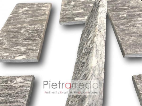 rivestimento in pietra pietrarredo milano beola ghiandonata prezzo ghiandone striato 15 cm 31 cm lati segati a spacco