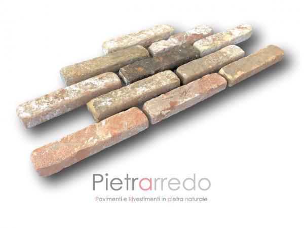rivestimento mattoni in cotto antico segato vecchia cascina pietrarredo rustico prezzo costi