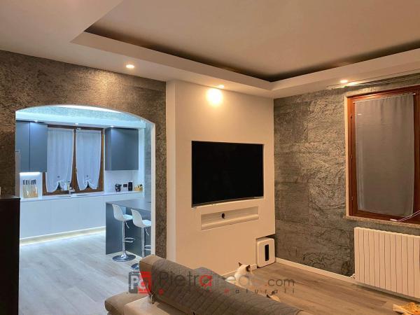 rivestimento muro con foglio flessibile silver shine pietrarredo milano prezzo offerta flexstone