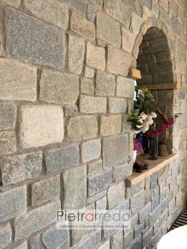rivestimento pietra luserna sottile anticato adda misure miste schenatti pietra vera costo prezzo milano