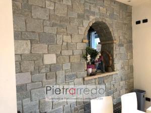 rivestimento pietrarredo milano luserna anticata muri facciate costo prezzo adda schenatti la verapietra prezzo