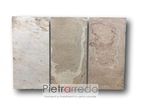 stone veneer tan beige brown price pietrarredo flexstone prezzi offerta sottile