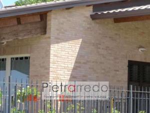 mattone anticato rivestimento classico sabbiato duetto san marco pietrarredo prezzo costi offerta listello basso spessore