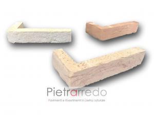 offerta angoli e angolari in mattone anticato a l per facciate basso spessore san marco prezzo costi listello