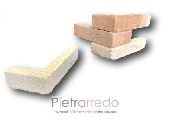 offerta e costi angoli in mattoni cotto listelli geo paramano terreal sabbiato anticato liste pietrarredo san marco fornace