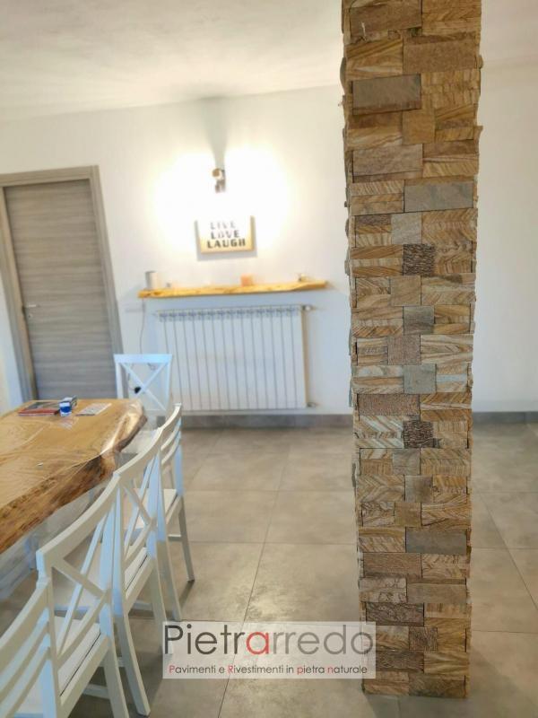 Pilastri rivestiti con pietra arenaria scozzese pietrarredo milano prezzo