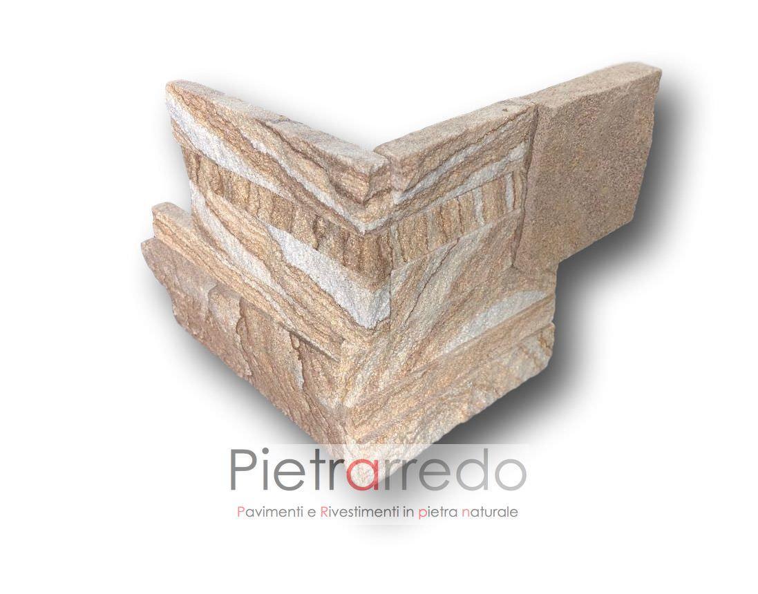 angolari in pietra arenaria scozzese pietrarredo milano costo prezzi offertespigoli