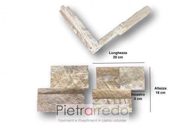 spigoli e pezzi speciali angoli pietra sasso arenaria beige prezzo costi pietrarredo lombardia stone corner sand