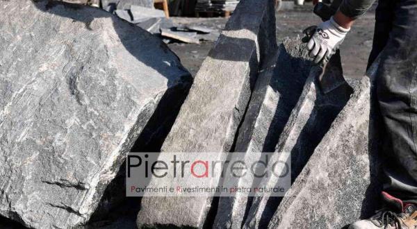 Prezzo e costo beola mq vallemaggia gra ver mosaico pavimento pietra