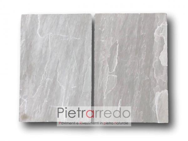 costi pavimento in pietra naturale arenaria indiana autumn grey price offert pietrarredo milano costi kandla