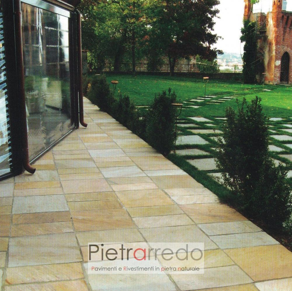 costi pavimento in pietra quarzite gialla brasiliana gontero barge costi offerte pietrarredo milano
