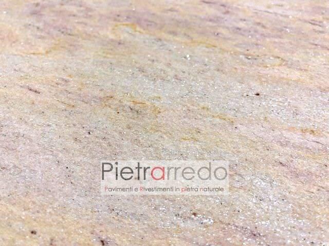 costo piastrelle pietra quarzite brasiliana spa centro benessere piscina pavimento atermica antiscivolo prezzo pietrarredo