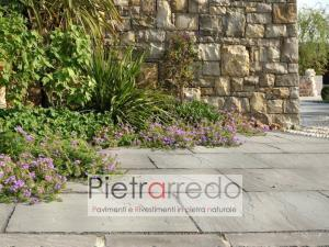 lastre da 60cm 90cm autumn grey offerta costo pietrarredo milano calibrato a 2 cm autumn grey stone garden
