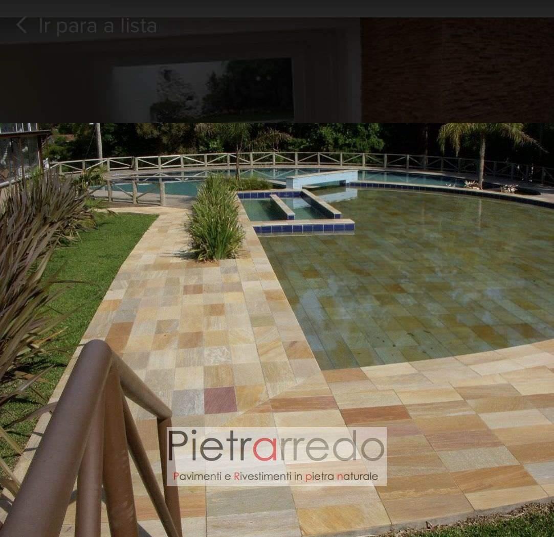 lastre in pietra bordi piscina per spa centro benessere terme offerta prezzi pietrarredo milano