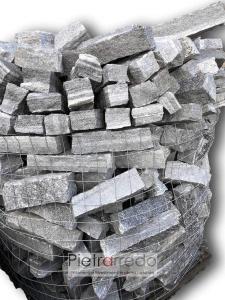 listre e listelli per muri e fioriere contenimento terra sasso beola vallemaggia svizzera costo pietrarredo milano