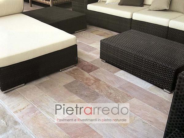 Galleria pavimenti e rivestimenti in pietra naturale QUARZITE BRASILIANA
