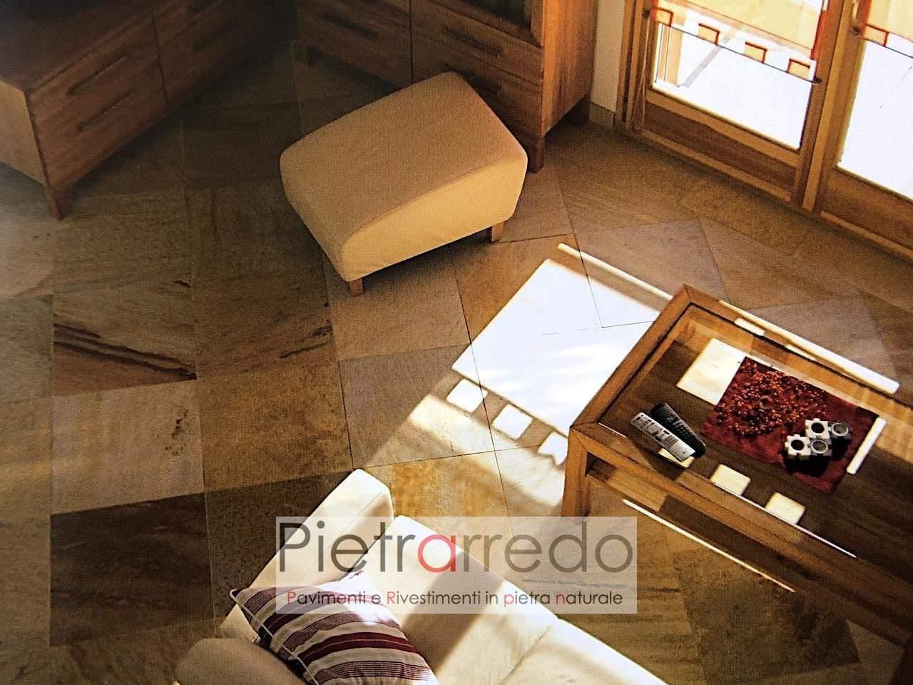 offerta pavimento pietra quarzite gialla brasiliana cave gontero prezzo costi offerte pietrarredo milano spa piscine
