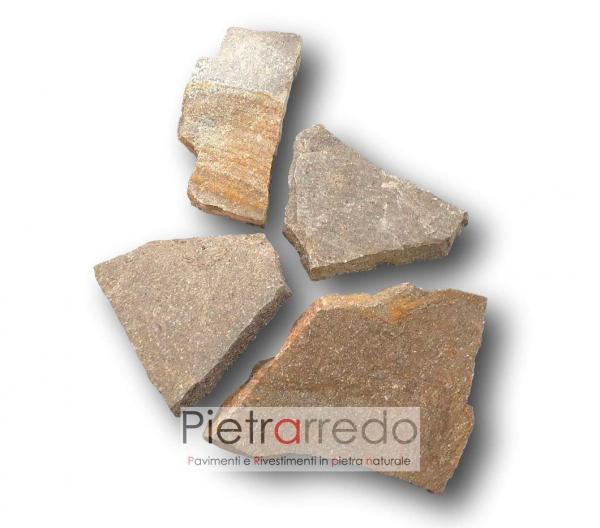opus incertum porfido trentino mosaico pietrarredo lastrame normale selciato prezzo costi parabiago