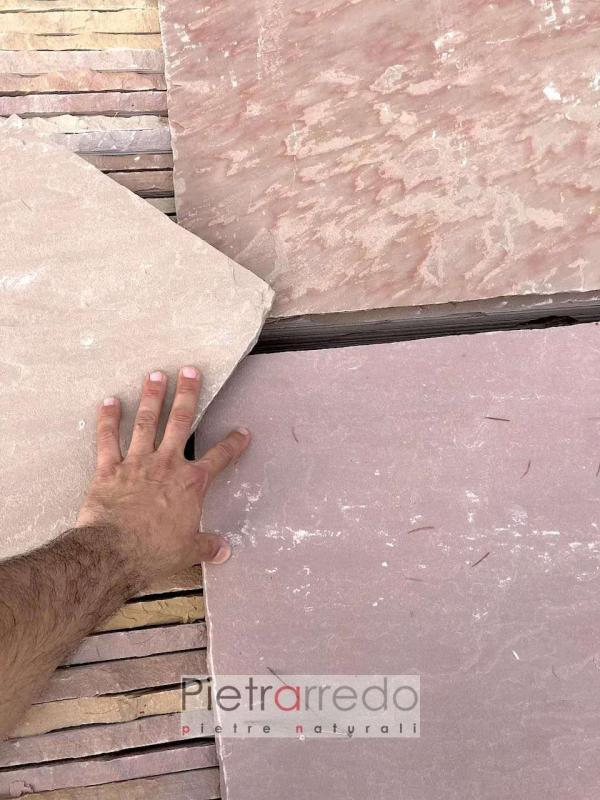 pietra arenaria modak colori prezzi pietrarredo milano pavimenti 60x90