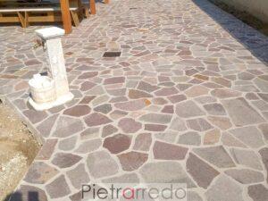 porfido mosaico palladiana mattonelle opera incerta prezzi pietrarredo milano