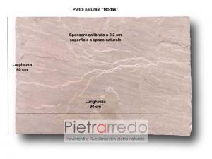 sandstone pink modak indiamn price stone paver prezzo pietrarredo milano