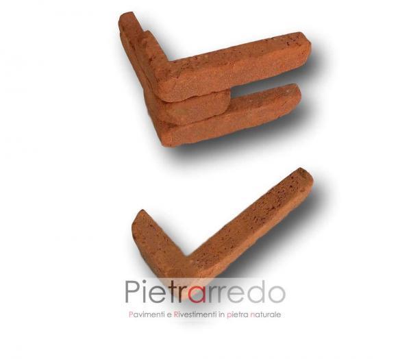 angolare spigolo mattone anticato vecchio arco spigolo pilastro prezzo antiche mura restauro pietrarredo milano