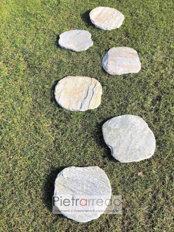 arredo giardino in pietra giapponese zen passi giapponesi in sasso stone city prezzo pietrarredo milano