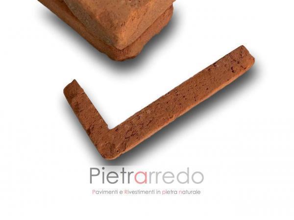 listelli in mattone cotto antiche mura pica san marco terreal spigolo angolare pietrarredo milano