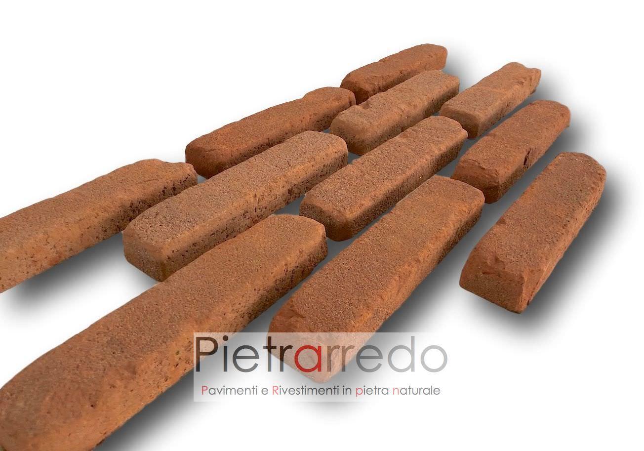 listelli mattone rosso vecchio antico muraglie medioevali rosso ripristino prezzo costi restauri