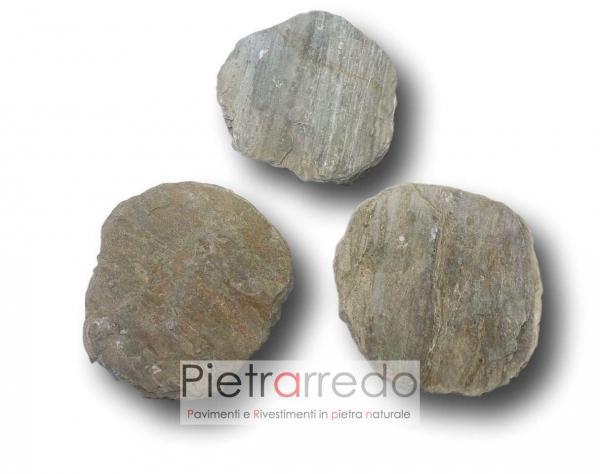 offerta passo giapponese anticato pietra sasso quarzie brasiliana pietrarredo milano prezzo stone garden