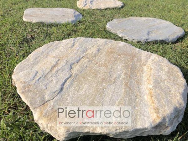 offerte lastre per prato in pietra quarzite brasiliana arredogiardino pietrarredo milano costi zen giapponesi crespi parabiago stone city