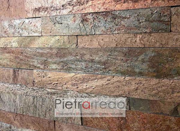 liste strips singole copper indiamn metal red schine cladding price pietrarredo milano gontero artesia elegante