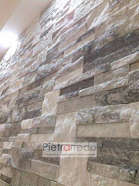offerta rivestimento decorativo per pareti e facciate quarzite ghiaccio scozzese pietrarredo offerta placche decorative