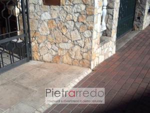 parete rivestita con mpsaico palladiana scorza antiqua di trani offerta e costo prezzo pietrarredo milano