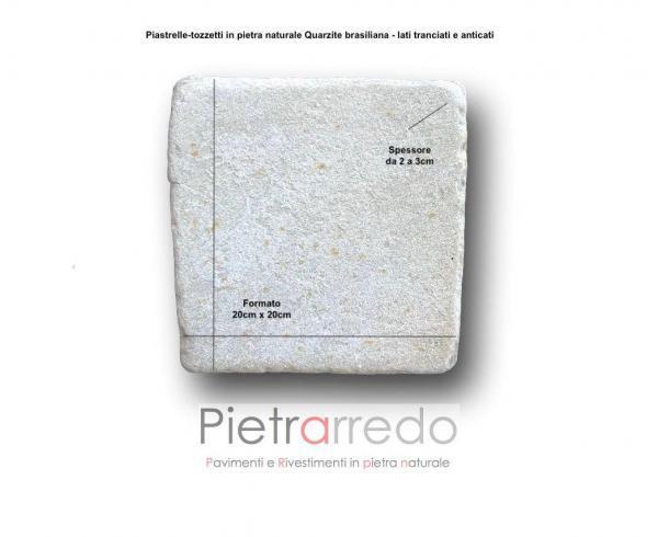piastrelle anticate lati tranciati gontero prezzo costi offerta gontero quarzite brasiliana per pavimento piscine sauna centro benessere