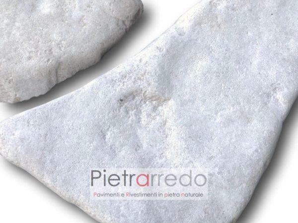 pietra da rivestimento costi retrosegata da incollare bianca mosaico anticata trani barleta sasso chianca prezzo