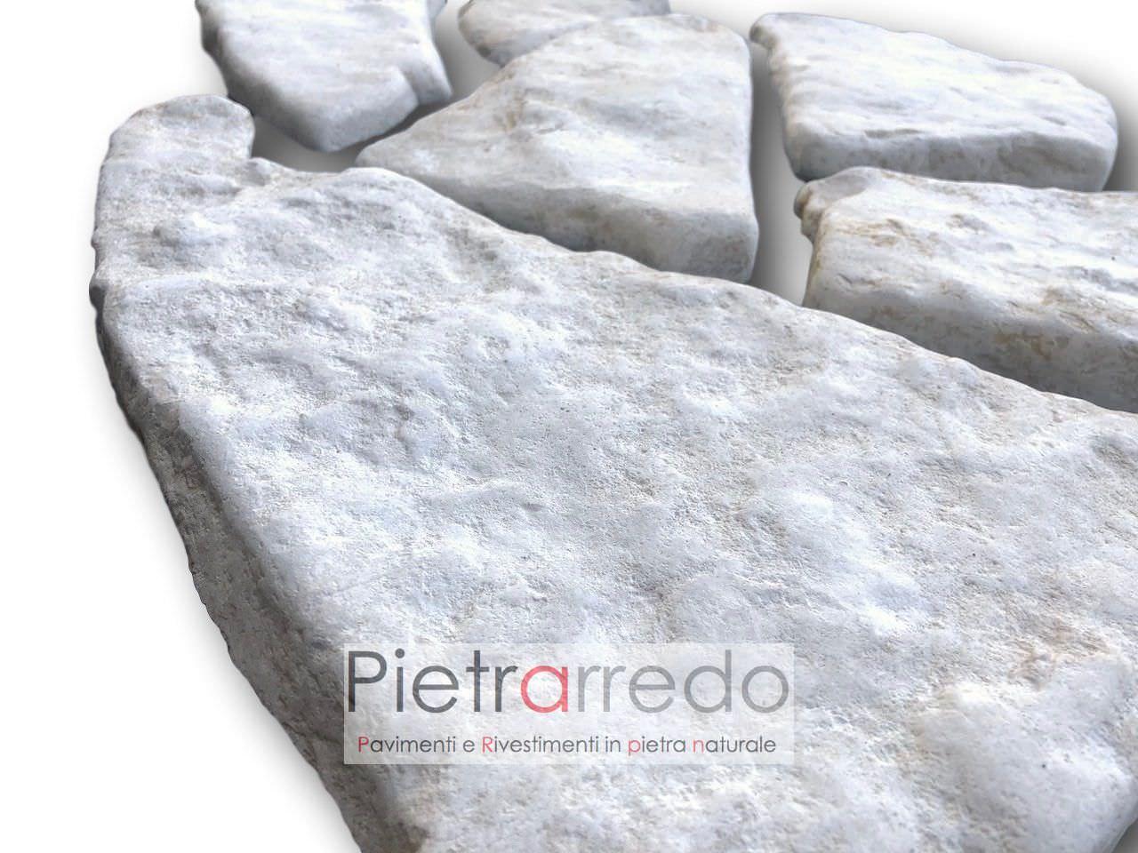 pietra naturale da rivestimenti pietrarredo antiqua trani anticata spazzolata a mosaico per pareti prezzo