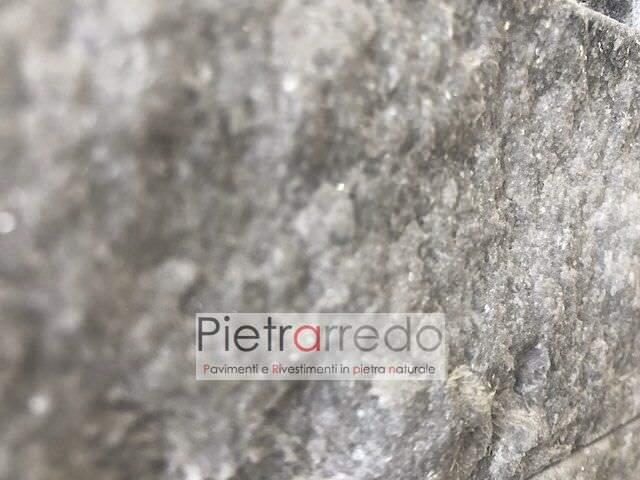 superficie brillante pietra da rivestimento in quarzite ghiaccio pietrarredo prezzo lombardia cladding stone panel z price