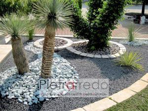 aiuole in sasso graniglia gravels black stone garden gravels pebles pietrarredo milano stone city prezzo