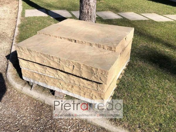 stone steps arenaria indiamn price pietrarredo milano italy offert gradone garden zen giapponese