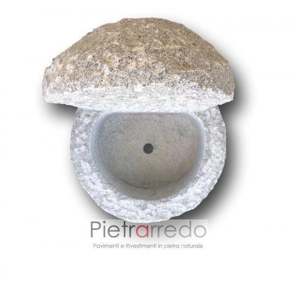 fontana da terra prezzo offerta pietrarredo milano costo prezzo diana vasca rotonda