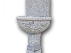 fotanone impero a muro fontana in graito sasso pietra fatta a mano elegate bella grande pietrarredo milano costo prezzo