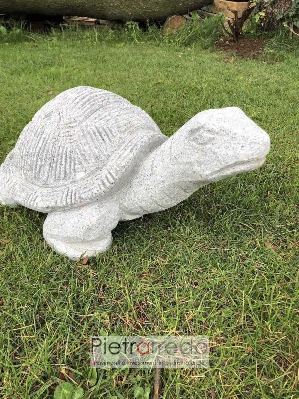 pietrarredo animali da giardino tartarughe in sasso belle prezzo costi stone garden