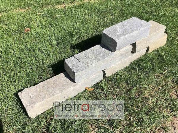 bordure grigie in pietra sasso per giardini giapponesi luserna pietrarredo milano prezzo