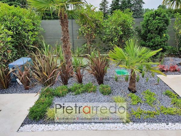 offerta stone garden pietrarredo pietra sassi ciottolo decorativo nero ebano giardini giapponesi costo prezzo