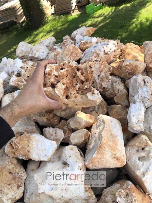 sassi da giardinaggio per decorazioni offerte prezzo pietrarredo milano laghetti stone deco